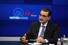 Enerji ve Tabii Kaynaklar Bakanı Dönmez, AA Editör Masası'nd